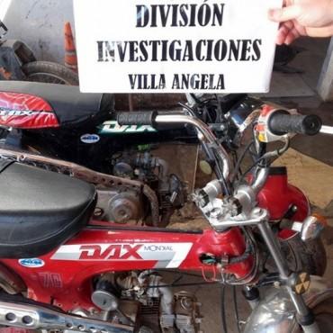 DOS MOTOS FUERON RECUPERADAS EN POCAS HORAS