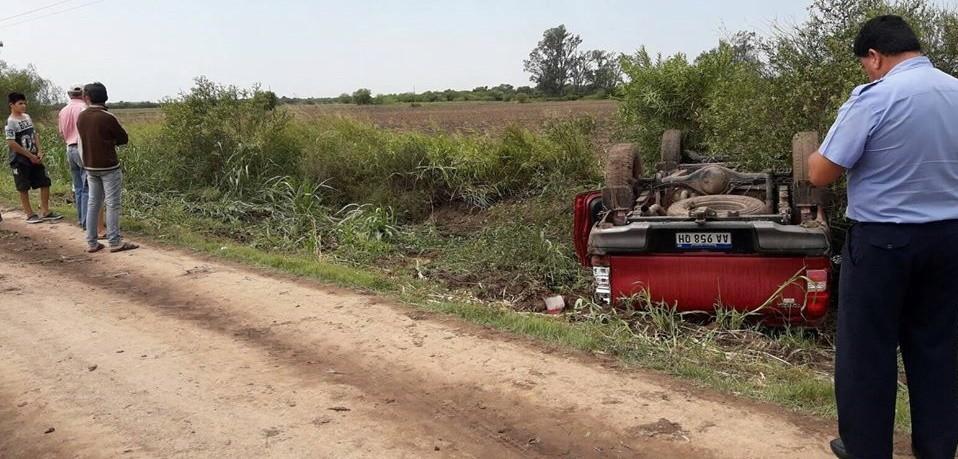 ACCIDENTE  FATAL EN LA ZONA RURAL DE CORONEL DUGRATY