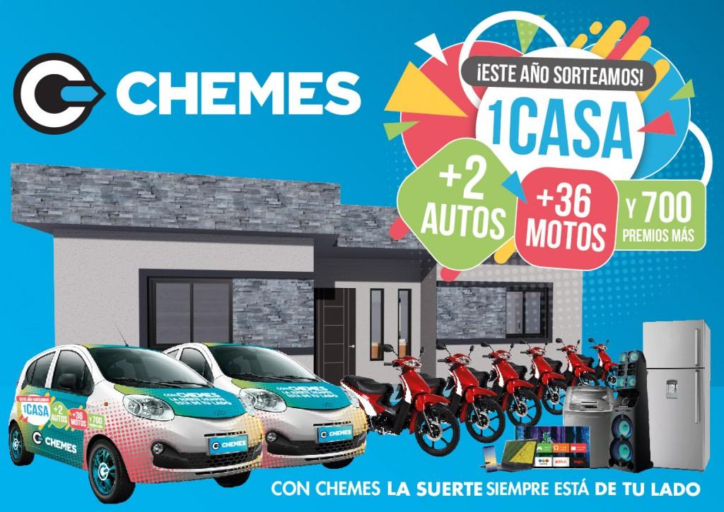 CHEMES REALIZÓ EL SORTEO FINAL DE 2 AUTOS 0KM Y LA PRESENTACIÓN DE SU NUEVA CAMPAÑA