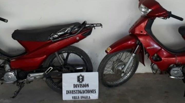 EN DOS OPERATIVOS LA DIVISIÓN INVESTIGACIONES RECUPERÓ DOS MOTOCICLETAS
