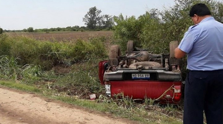 ACCIDENTE  FATAL EN LA ZONA RURAL DE CORONEL DUGRATY
