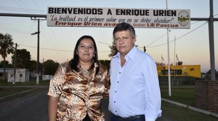 """LILIANA PASCUA: """"DESPUÉS DE MÁS DE 100 AÑOS, ENRIQUE URIEN TENDRÁ AGUA POTABLE Y RUTA"""""""