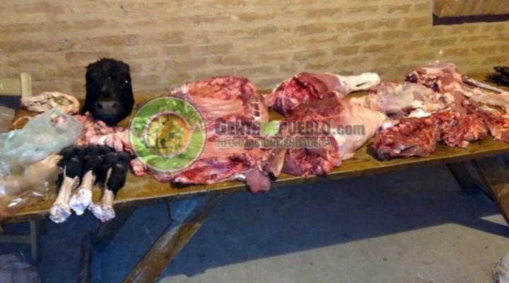 VILLA BERTHET: DETIENEN A TRES MAYORES POR SUPUESTO HURTO DE GANADO MAYOR