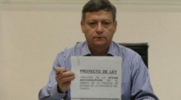 INGRESÓ A LA LEGISLATURA EL PROYECTO DE LEY PARA CREAR LA OFICINA ANTICORRUPCIÓN