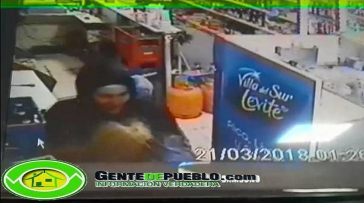 VIDEO: ROBO A MANO ARMADA EN UN COMERCIO DE VILLA ÁNGELA