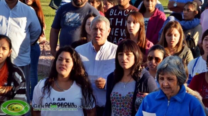 EL CONCEJO MUNICIPAL ACOMPAÑO A LA JORNADA EN CONTRA DEL ABORTO
