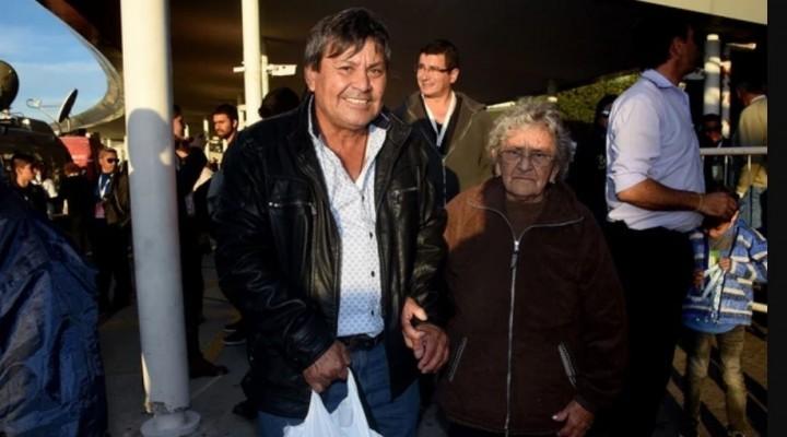 """""""ESTOY CONTENTA, HOY SE LA VERDAD"""" EXPRESÓ EMILIA FERNANDEZ A SU REGRESO DE MALVINAS"""