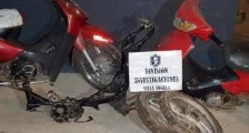 INVESTIGACIONES VILLA ÁNGELA: INVESTIGAN LA PROPIEDAD DE MOTOCICLETAS SECUESTRADAS EN UN OPERATIVO