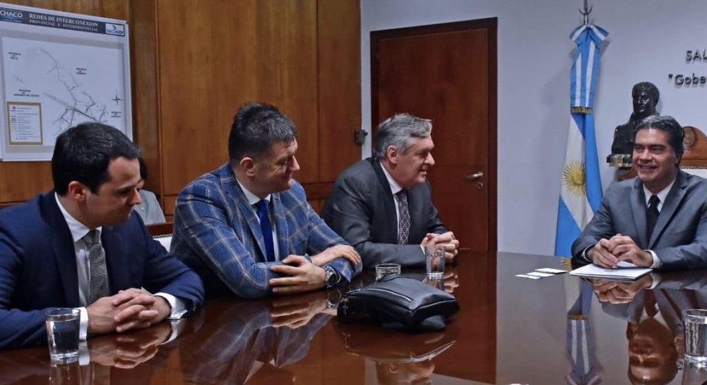 CAPITANICH RECIBIÓ AL EMBAJADOR DE MONTENEGRO PARA RETOMAR UNA AGENDA BILATERAL ECONÓMICA Y CULTURAL
