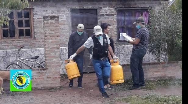 """""""NANI"""" Y """"OJITO DE VACA"""" ROBARON GARRAFAS Y CINCO BOTELLAS DE CERVEZA"""
