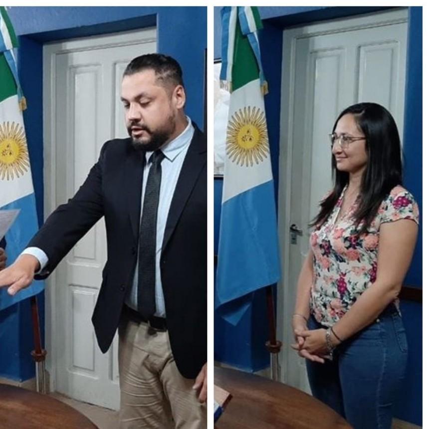 NUEVO SECRETARIO Y SUBSECRETARIA DE SERVICIOS PÚBLICOS MUNICIPAL