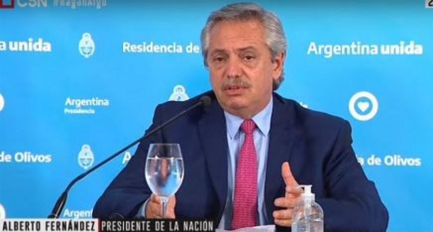 ALBERTO FERNÁNDEZ ANUNCIÓ LA PROLONGACIÓN DE LA CUARENTENA HASTA SEMANA SANTA
