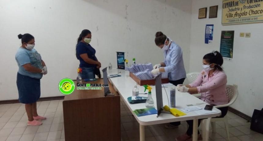 ESTE MIÉRCOLES SE CONTINUARÁ CON LA ENTREGA DE TARJETAS DE DÉBITO DEL NBCH