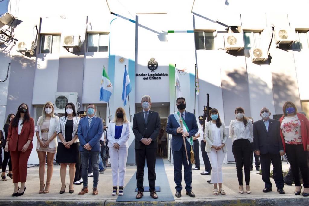 """CAPITANICH INAUGURÓ LAS SESIONES LEGISLATIVAS 2021: """"AL AÑO DE LA PANDEMIA LE SUCEDERÁ EL TIEMPO DE LA RECUPERACIÓN"""""""