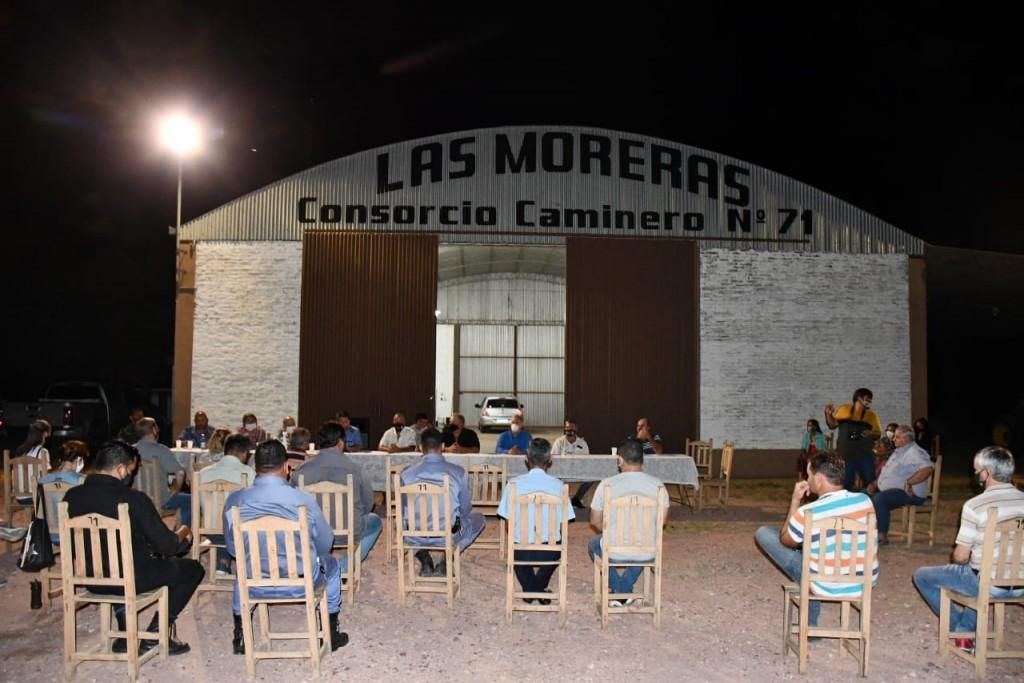 PRODUCTORES SE REUNIERON CON AUTORIDADES MUNICIPALES Y POLICIALES PARA PEDIR POR MAS SEGURIDAD