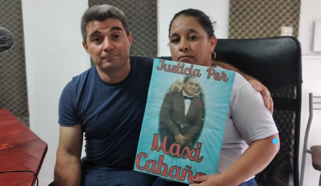 A MÁS DE DOS AÑOS DE LA MUERTE DE MAXI CABAÑA SU FAMILIA CONTINÚA PIDIENDO JUSTICIA
