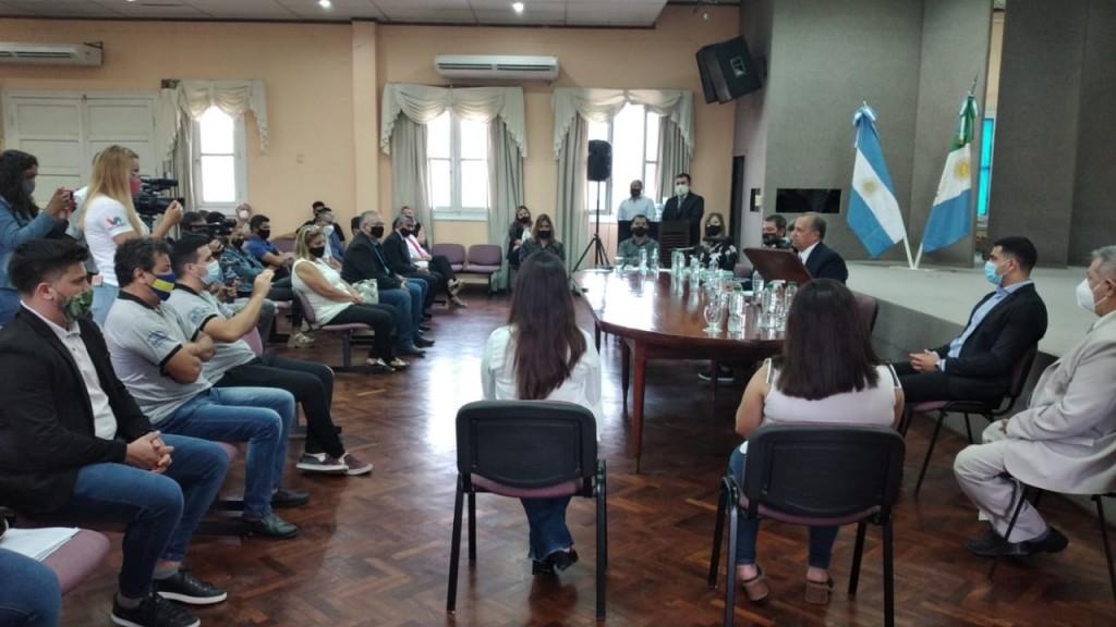 APERTURA DE SESIONES: EL INTENDENTE DESTACÓ EL TRABAJO DEL EQUIPO MUNICIPAL
