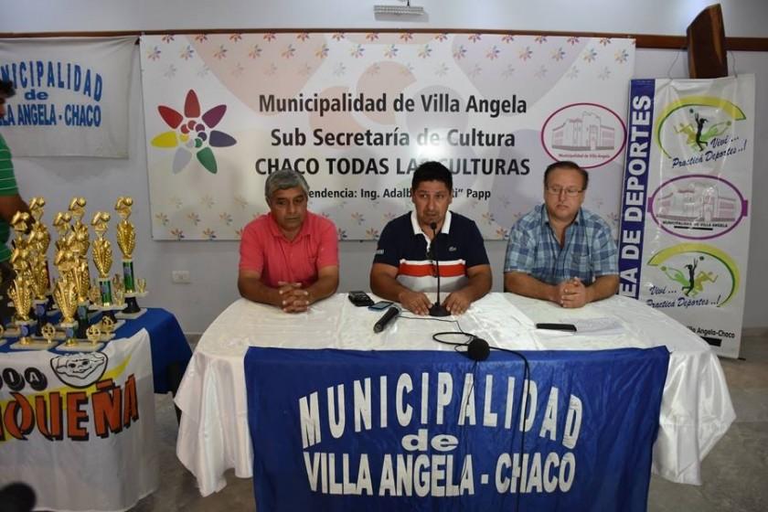 ANUNCIAN LANZAMIENTO DE LOS JUEGOS EVITA CON LA PRESENCIA DEL INTENDENTE Y EL GOBERNADOR