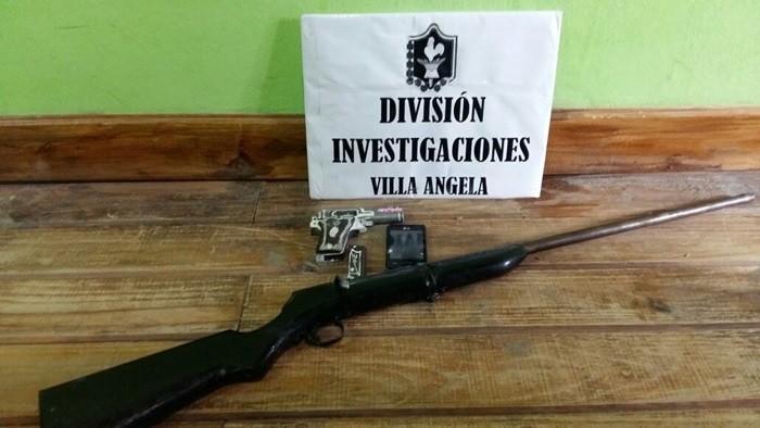 INVESTIGACIONES SECUESTRO DOS ARMAS DE FUEGO DE DUDOSA PROCEDENCIA