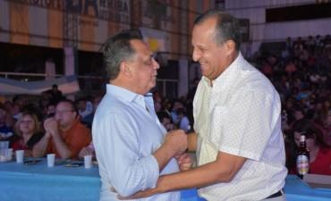 EL INTENDENTE ADALBERTO PAPP, RECIBIÓ A MARIO BOFIL