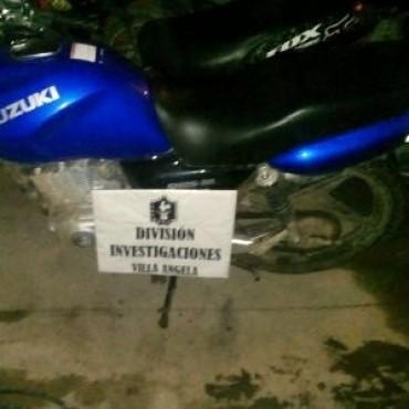 RECUPERARON SU MOTO TRAS UNA CERTERA INVESTIGACIÓN