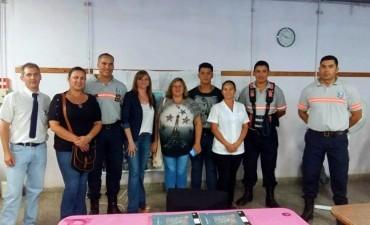 MEDIO AMBIENTE Y POLICÍA CAMINERA REALIZAN CAPACITACIONES SOBRE SEGURIDAD VIAL