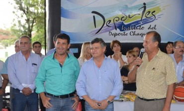 EL INTENDENTE PAPP Y EL GOBERNADOR PEPPO LANZARON LOS JUEGOS EVITA 2017