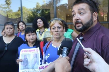 LA MADRE DE MAIRA Y EL ABOGADO DEL CASO SE REÚNEN EN VILLA ÁNGELA