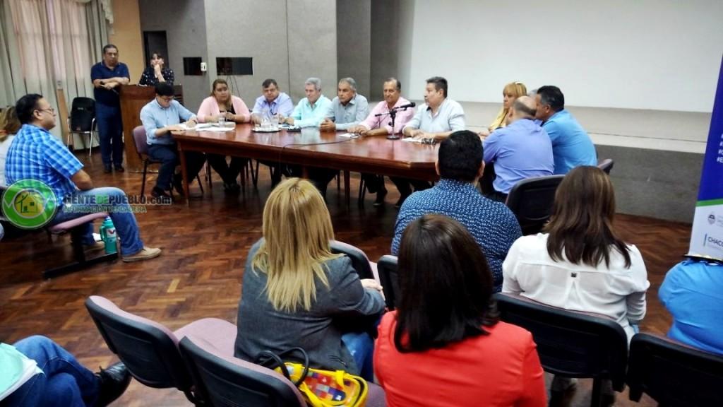 VILLA ÁNGELA AVANZA EN LA CONFORMACIÓN DEL FORO DE SEGURIDAD VECINAL