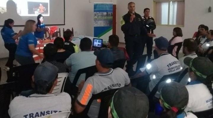 INSPECTORES DE TRÁNSITO MUNICIPALES PARTICIPARON DEL 5° CONGRESO REGIONAL DE CAPACITACIÓN EN PRESIDENCIA DE LA PLAZA