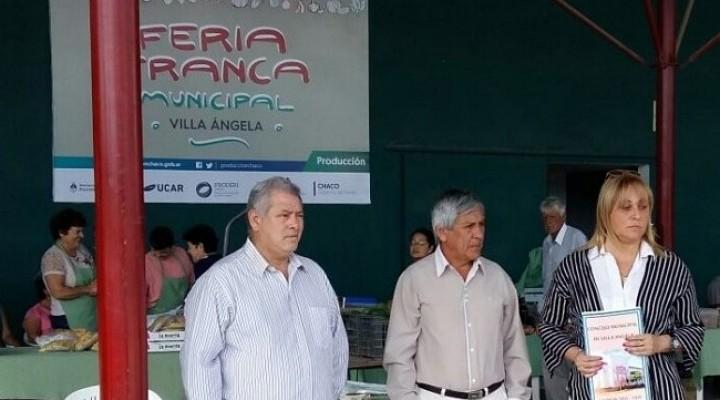EL CONCEJO MUNICIPAL ACOMPAÑO Y FELICITO A LOS INTEGRANTES DE LA FERIA FRANCA EN SU NUEVO LOGRO