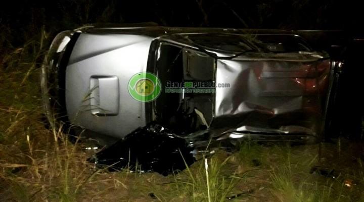 ACCIDENTE FATAL SOBRE RUTA NACIONAL 95 EN CERCANÍAS A VILLA ÁNGELA