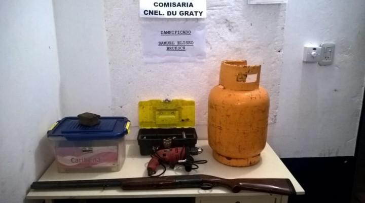 PERSONAL POLICIAL ATRAPO A CUATRO MENORES Y ESCLARECIÓ UN ROBO