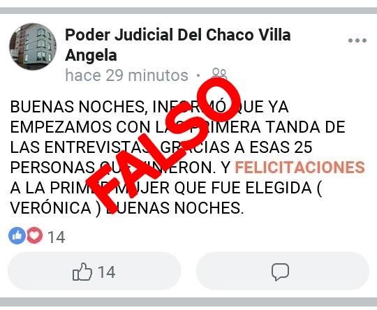 EL STJ DESCONOCE FALSO PERFIL DE RED SOCIAL