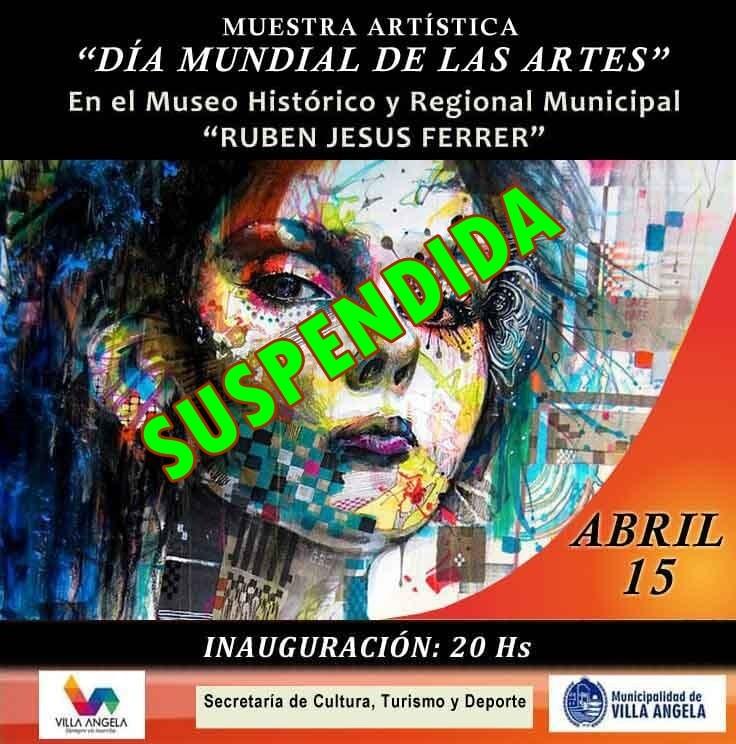 SE REPROGRAMO LA MUESTRA ARTÍSTICA EN EL MUSEO