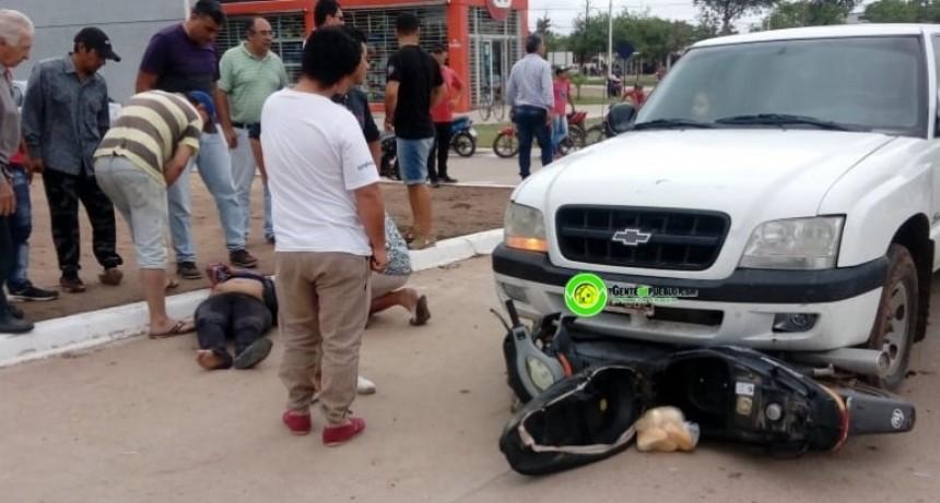 TREMENDO ACCIDENTE EN LA ROTONDA DE AVENIDA KENNEDY