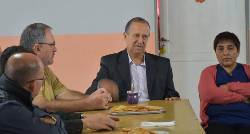 POR ADMINISTRACIÓN MUNICIPAL SE COMENZARA LA OBRA DE PAVIMENTACIÓN FRENTE A LA ESCUELA ZAPICO