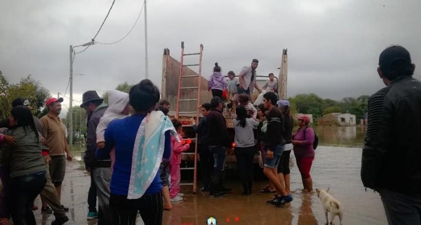 MÁS DEL 90% DE LA POBLACIÓN DEL LOTE 6 FUE EVACUADA
