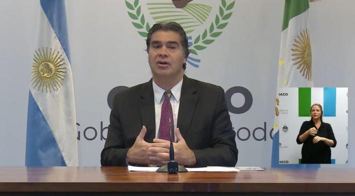 EL GOBERNADOR HIZO UN BLANCE DE SU REUNION CON EL PRESIDENTE