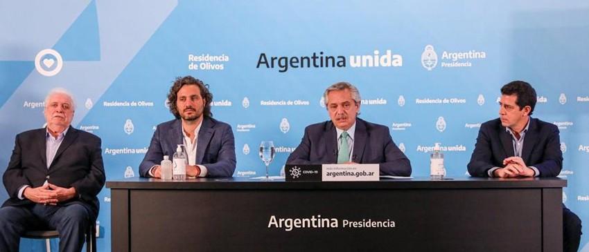 ALBERTO FERNÁNDEZ CONFIRMÓ QUE LA CUARENTENA CONTINÚA HASTA EL 26 DE ABRIL