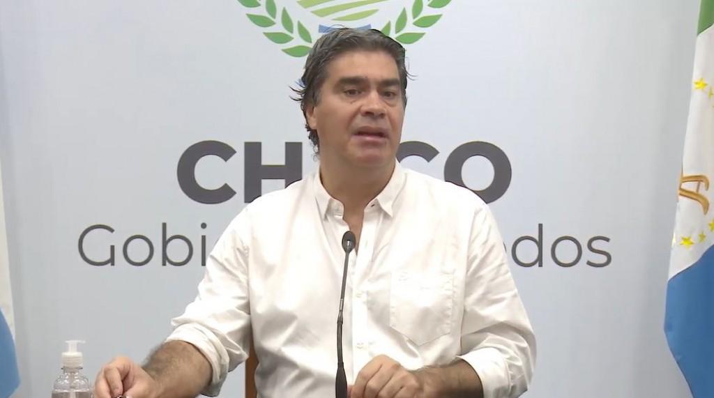 CAPITANICH ANUNCIÓ NUEVAS MEDIDAS EN LA PROVINCIA ANTE LA EXTENSIÓN DE LA CUARENTENA