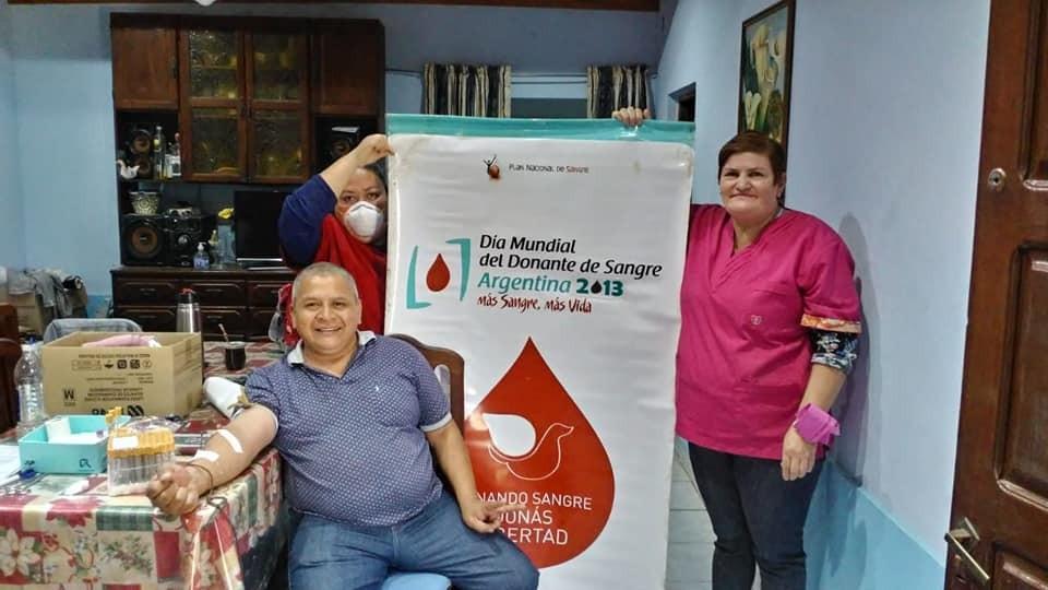 DESDE EL SERVICIO DE HEMOTERAPIA DEL HOSPITAL SE CONTINUA CON LA CAMPAÑA DE DONACION DE SANGRE