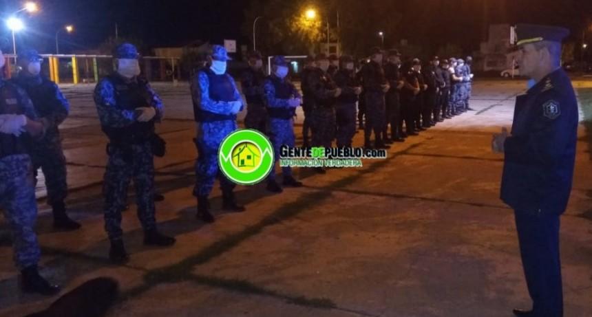 SE ENDURECEN LOS CONTROLES POLICIALES TANTO DE NOCHE COMO DE DÍA