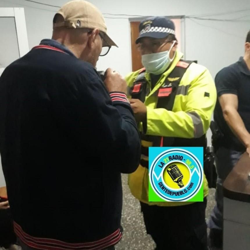 LOS TRES JÓVENES PRESENTABAN UN ESTADO DE ALCOHOLISMO AGUDO