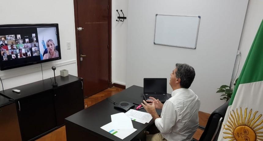 EL GOBERNADOR AVANZA EN EL CONSENSO CON RECTORES DE INSTITUTOS TERCIARIOS PARA LA REFORMA EDUCATIVA
