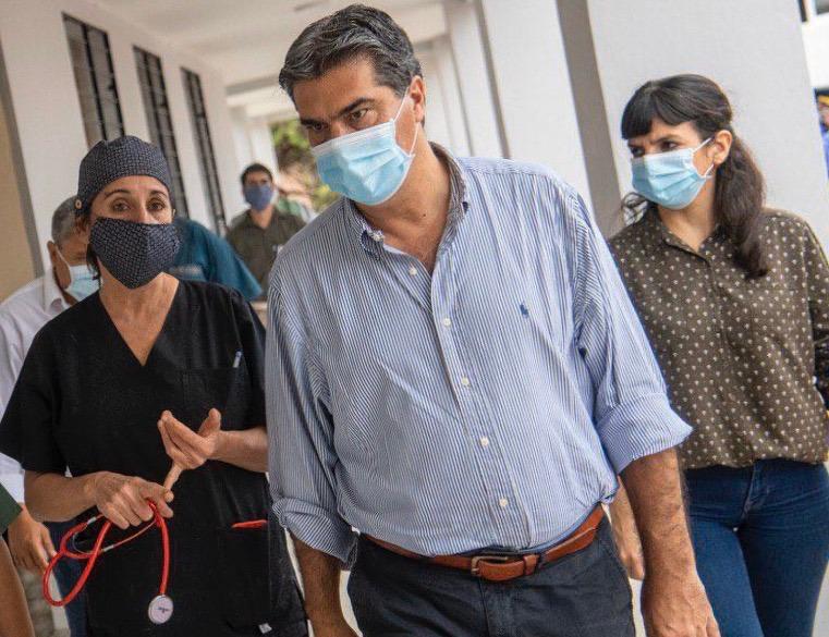 """""""DESARROLLO INTEGRAL: EN EL SAUZALITO, CAPITANICH Y RACH QUIROGA RECORRIERON NUEVAS OBRAS EN EL HOSPITAL, ATENDIERON DEMANDAS DE SEGURIDAD Y VISITARON PROYECTOS PRODUCTIVOS"""""""