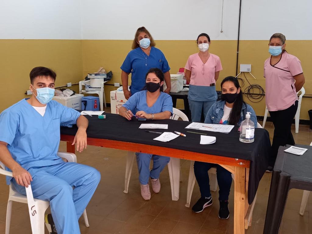 VACUNACIÓN CONTRA COVID-19: NUEVA POSTA EN LA CASA DEL BICENTENARIO