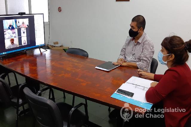 Legisladores dialogaron con el Ministro de Gobierno por las elecciones del IDACH