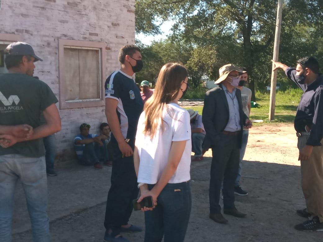 LOS FISCALES RÍOS Y OÑUK INTERVINIERON EN UNA CANCHA DE CARRERAS CUADRERAS CLANDESTINAS