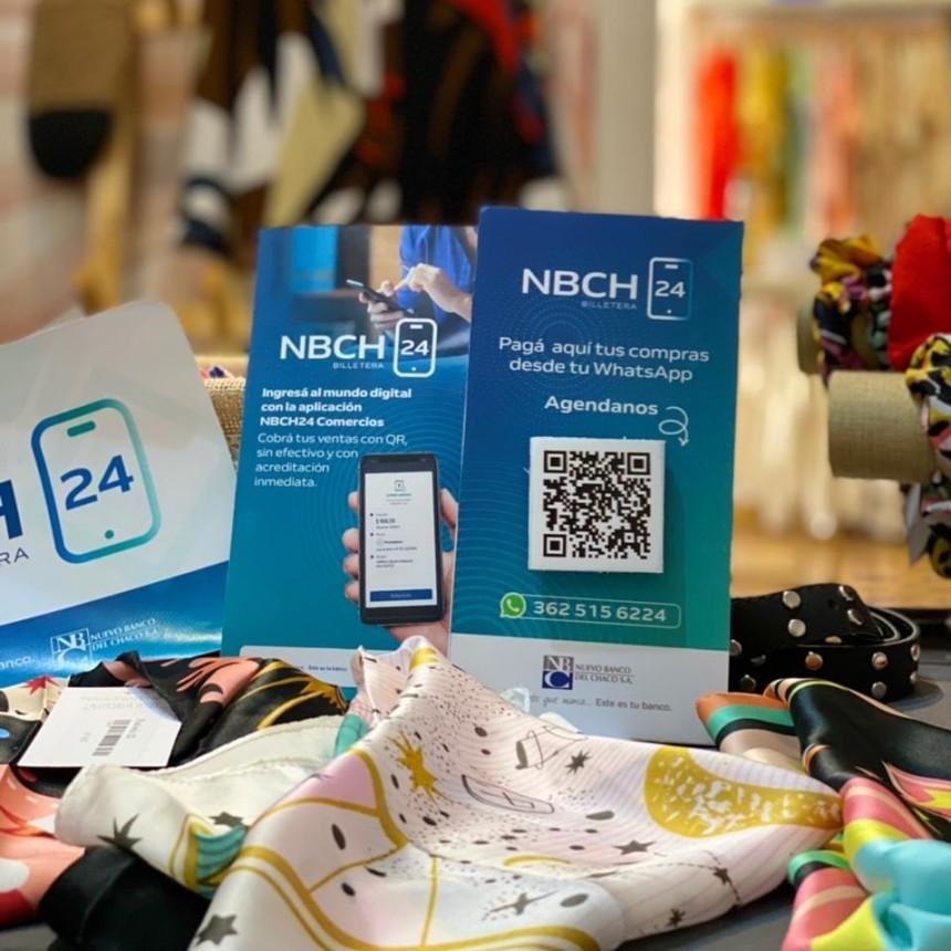 CON NBCH24 BILLETERA, COMERCIOS DE TODA LA PROVINCIA PUEDEN VENDER SIN EFECTIVO Y CON ACREDITACIÓN INMEDIATA